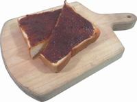 鮎味噌トースト